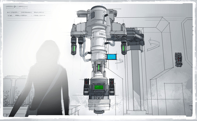 Brand new Amazing Spider-Man concept art takes you deep inside OsCorp!
