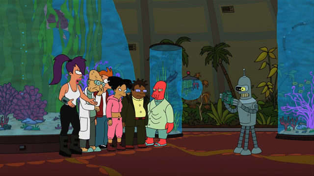 Futurama acknowledges a universal truth: We're obsessed with actors, except when they're talking