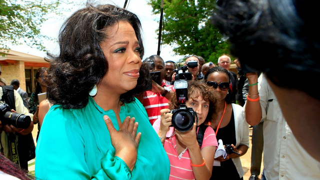 A Barbershop Is Destroying Oprah's Family
