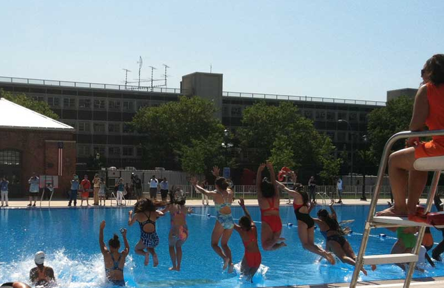 Everything That Happens at Williamsburg Pool Freighted With Heavy Sociocultural Significance