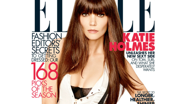 Elle Has a Katie Holmes Divorce Cover Already