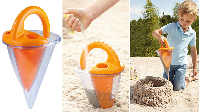 Manual 3D Sandcastle Printer: The Most Tedious Way to Have Fun at the Beach