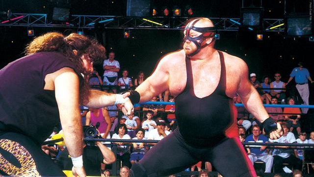 Court-Ordered Community Service With Big Van Vader: More Wrestler Run-Ins