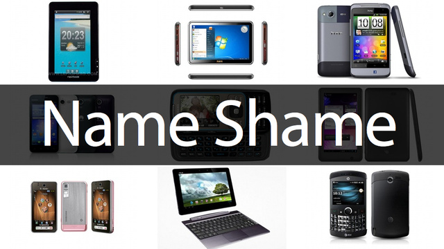 The 20 Worst-Named Phones and Tablets