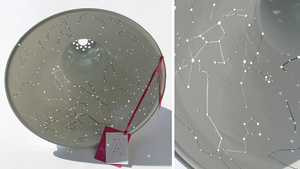 Constellation Lampshade Projects the Starry Sky Across Your Ceiling