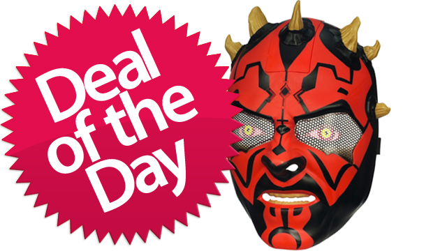 This Darth Maul Electric Mask Is Your Weapon-Forged-By-The-Dark-Side Deal of the Day [Dealzmodo]