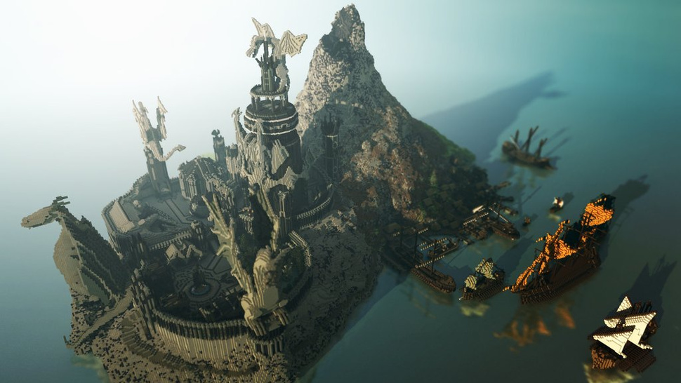 You Must See These Stunning Photos Of <em>Game of Thrones</em> Set In <em>Minecraft</em>