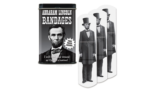 These Abe Lincoln Band-Aids Will Heal You Like He Healed Our Nation