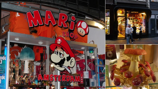 In Amsterdam, Mario Will Totally Get You High