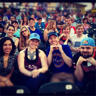 "Instagram Photos From The Brooklyn Cyclones' ""Williamsburg Night"""