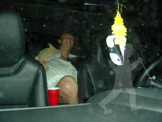 This Sure Looks Like Andris Biedrins Getting Oral Sex In The Back Seat Of A Car