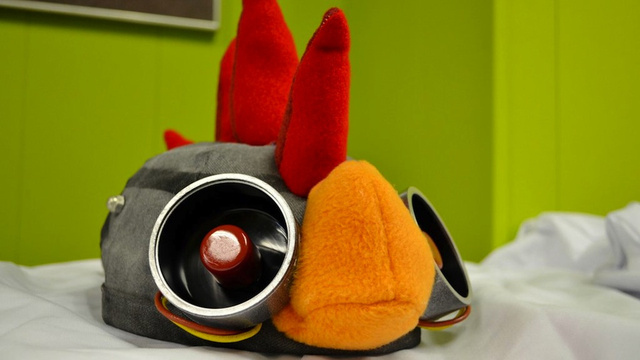 Witness Robot Chicken's Hilarious Team Fortress 2 Hat In Real Life