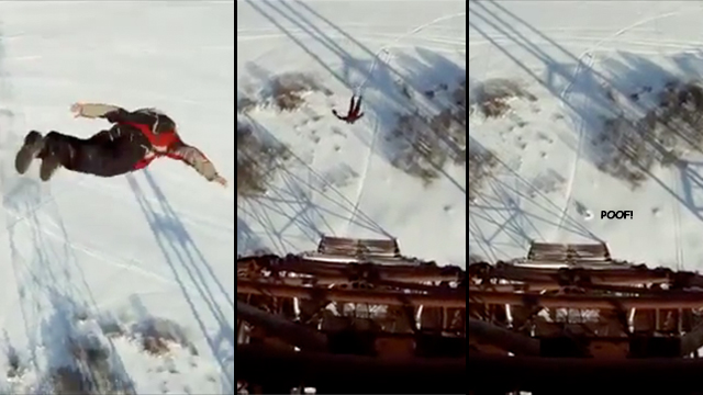 Click here to read Watch This Guy Survive a 393-Foot Fall Like Wile E. Coyote