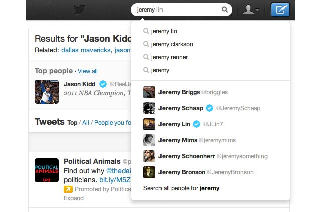 Click here to read Twitter Search Now Has Autocomplete and Other Improvements