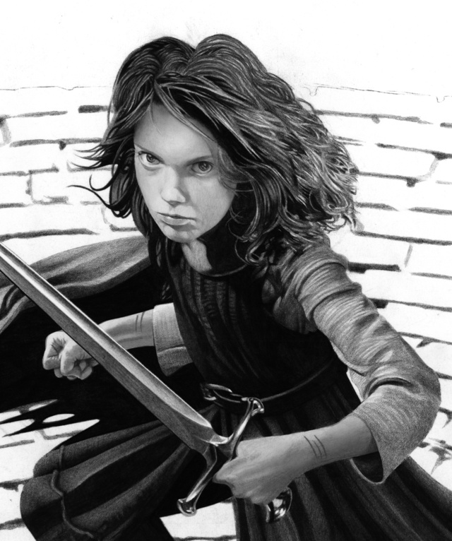And Finally, How to Make Arya Stark of Winterfell Look Even More Badass