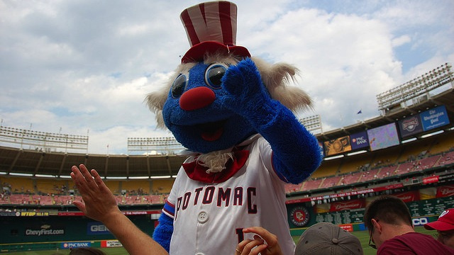 Minor League Mascot Placed On DL With Third-Degree Costume Burns