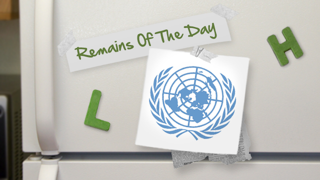 Click here to read Remains of the Day: The UN Declares Internet Access a Human Right