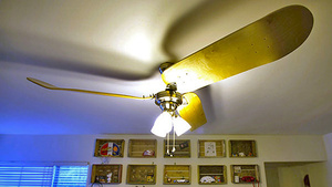 What's the Big Deal? This Skateboard Ceiling Fan Does 900s All Day Long