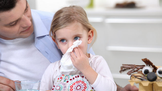 Parents Somehow Less Likely to Contract Common Cold