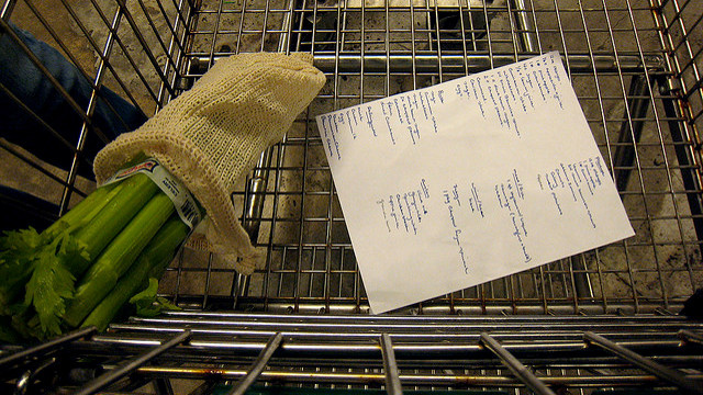 Swap Grocery Lists with a Trusted Friend to Avoid Impulse Shopping