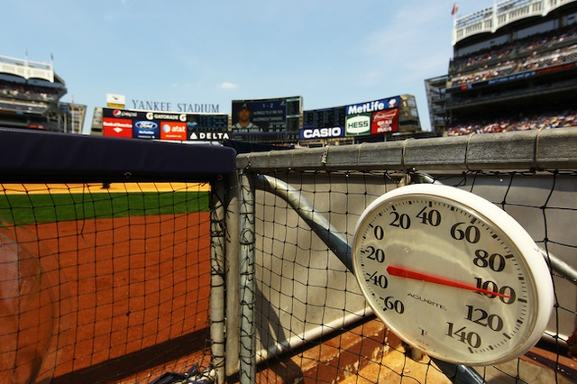 "Baseball Writers Of America: ""It's Hot"""