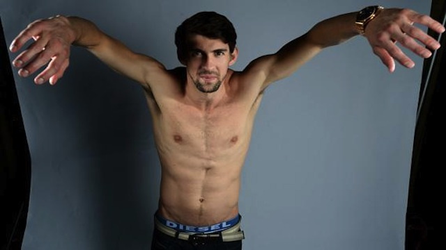 Michael Phelps, America's Laziest Olympian, Barely Qualifies For Tonight's 400 Individual Medley