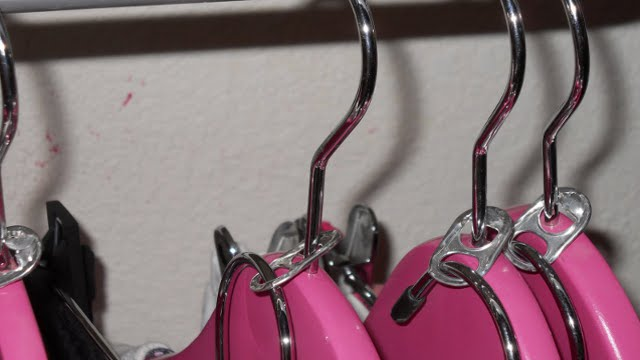 Click here to read Create Double Clothes Hangers with Beverage Can Tabs