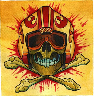 Plan your next Star Wars tattoo with these ink-inspired paintings