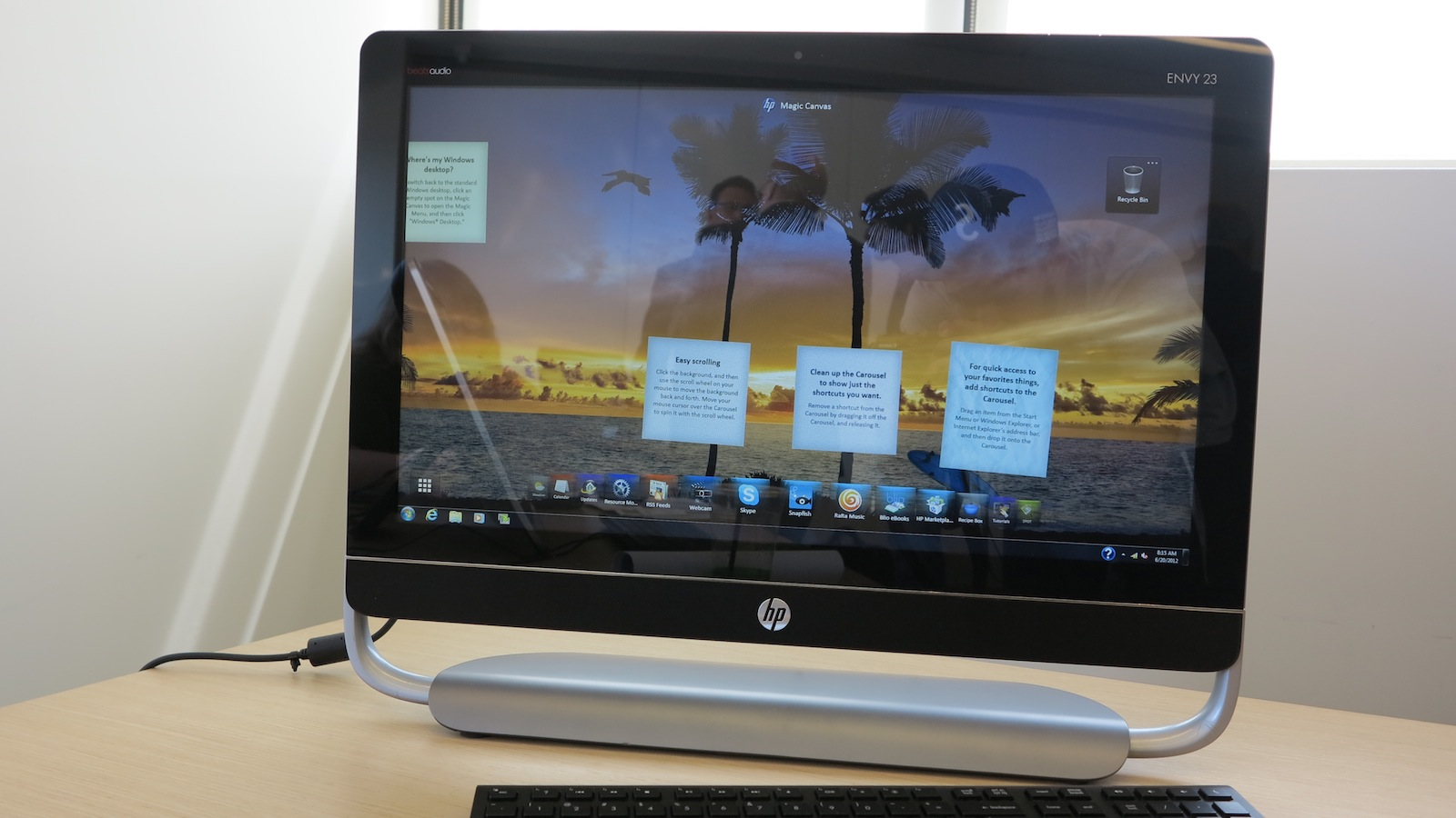 Click here to read HP's Ivy Bridge-Equipped Envy 23 Offers Premium Style With a Smaller Price