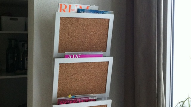Click here to read Transform a Wall-Mounted Magazine Holder into a Space-Saving Message Center