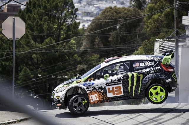 Ken Block's San Francisco Adventure: Epic Gymkhana 5 Photo Gallery