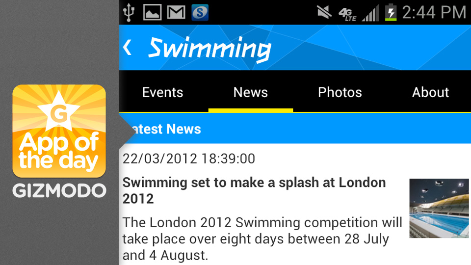 Click here to read London 2012 Results App: Follow Team USA at the Olympics