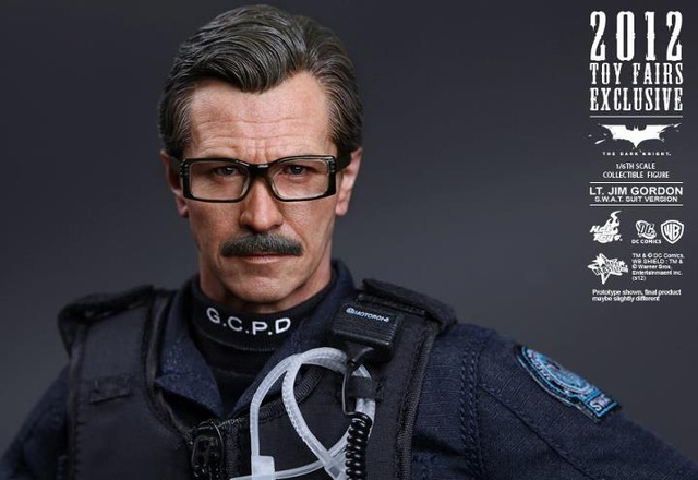Hold Batman's Gary Oldman in the Palm of Your Hand