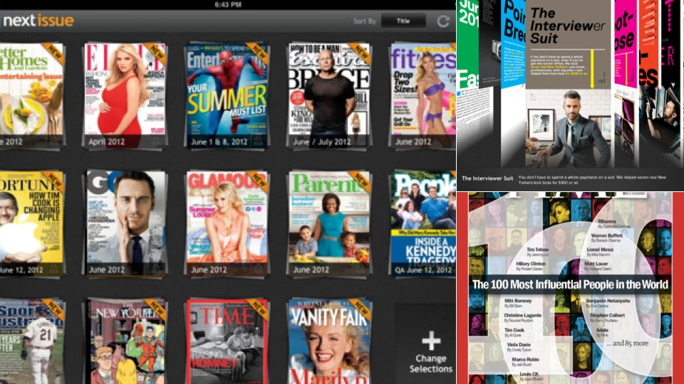 "Click here to read All-You-Can-Read Magazine App ""Next Issue"" Now Available for iOS"