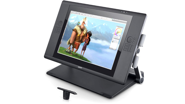 Wacom's Multitouch Cintiq Gets Your All Your Fingers In On the Action