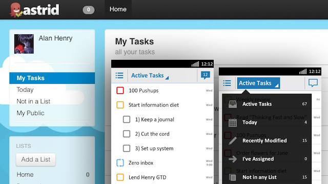Most Popular To-Do List Manager: Astrid