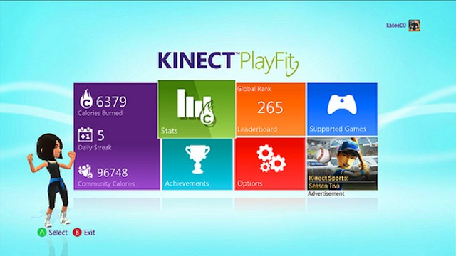 New Xbox Application Gives You Achievements For Burning Calories