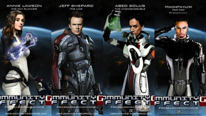 The Cast Of NBC's Community Are Naturals At Roleplaying Mass Effect Characters