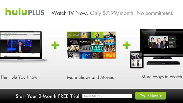 Click here to read Try Hulu Plus Free for 2 Months