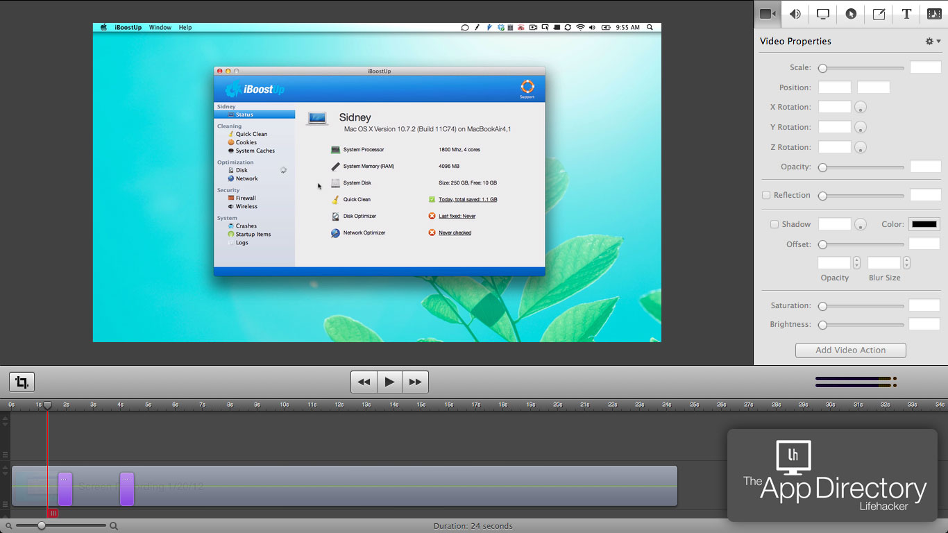 Free Movie Editing Software For Mac Os X
