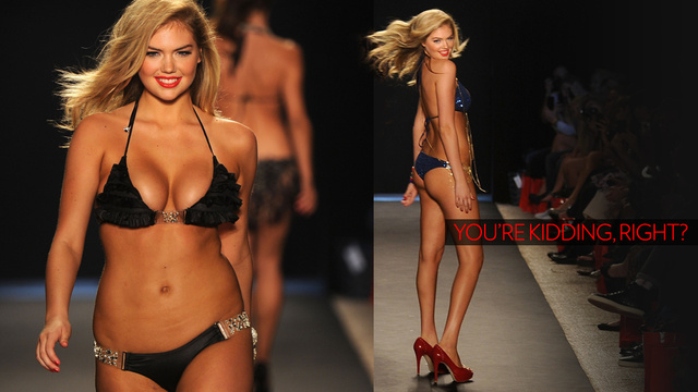 Kate Upton Is Now Considered 'Fat'