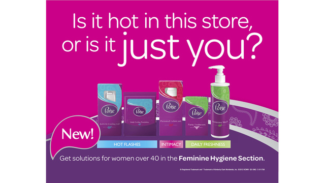 Kimberly-Clark Wants Women to Talk About (and Spend Money on) Menopause