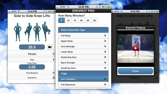 Click here to read Sworkit Pro Talks You Through Randomly-Generated Exercise Routines Based on Your Preferences