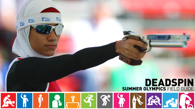 Olympics Field Guide: Aya Medany, The Only Athlete In A Hijab