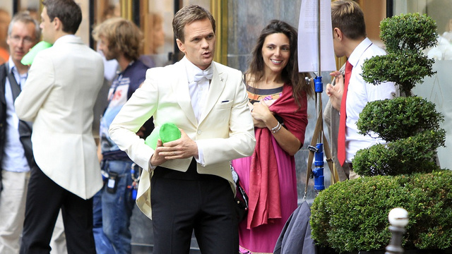 Watch Neil Patrick Harris' soul evaporate a little more in the first Smurfs 2 set photo