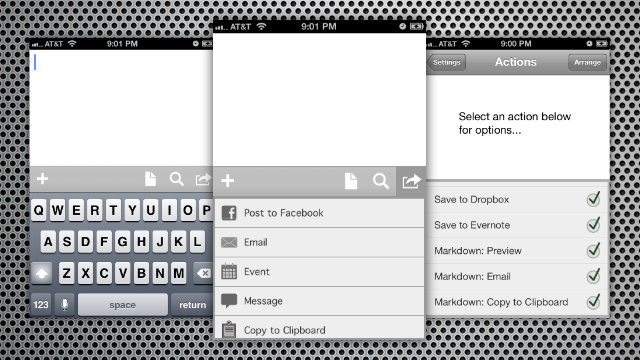Drafts Captures, Organizes, and Exports Quick Notes