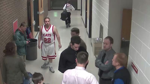 The Piggyback Bandit Has Now Been Banned From High School Sporting Events In Minnesota, Too