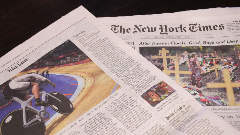<em>Kotaku</em> Reviews Now Running in <em>The New York Times</em>
