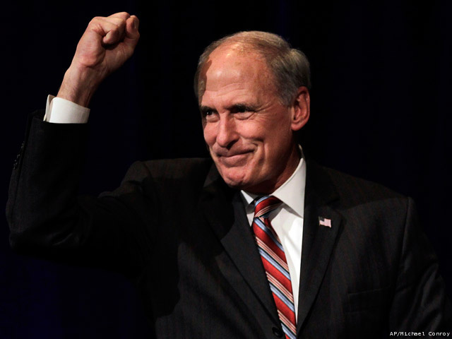 "Dan Coats, Indiana's US Senator, Will Not Quit On That US Open ""Under God"" Thing"