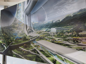 New Elysium concept art shows off Matt Damon's perfect space station